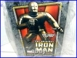 Iron Man Bowen Statue Faux Bronze Gem Only /350 Made New Sealed Gem Classic