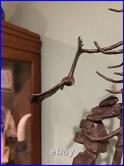 Mark hopkins bronze mountain majesty incredibly rare 28 tall only a few made