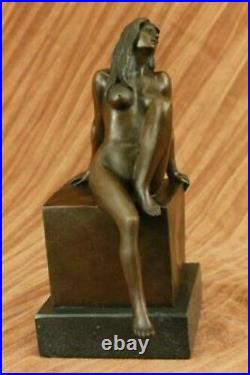 Nude Exotic Female by Bronze by Milo Sculpture Statue Figure Figurine Hand Made