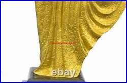 Signed D. H. Chiparus bronze statue, art deco dancer sculpture hand Made Figurine