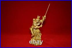 Statue Large Monkey King, HEAVY item made of Brass with Free Postage