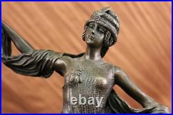 Stunning art deco style bronze statue of a Turkish dancer Hand Made Figure Deal
