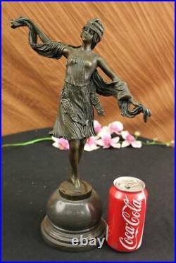 Stunning art deco style bronze statue of a Turkish dancer Hand Made Figure gift