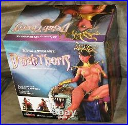 Women of Dynamite Dejah Thoris Campbell Bronze Statue (#33 of Only 99 Made) NIB